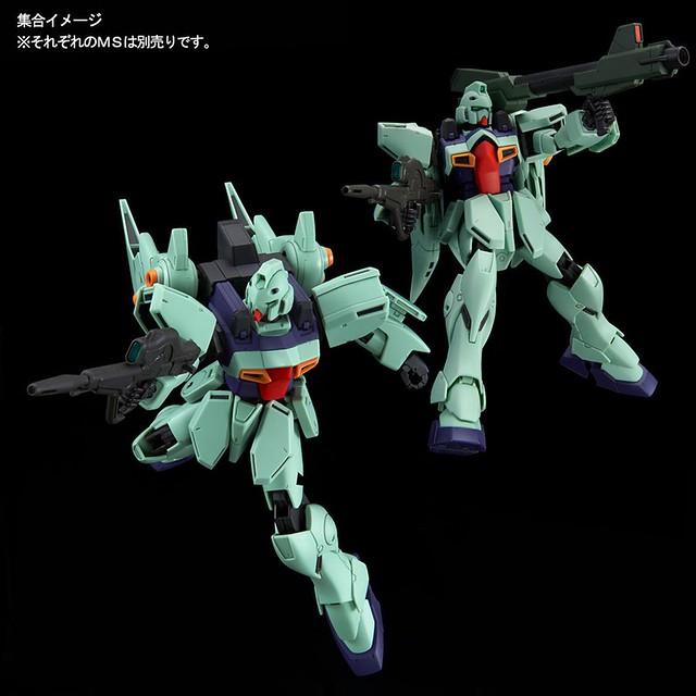 搭載「雙馬尾」的高機動強化型!RE/100《機動戰士V鋼彈》LM111E03 鋼布拉斯塔(ガンブラスター)【PB限定】