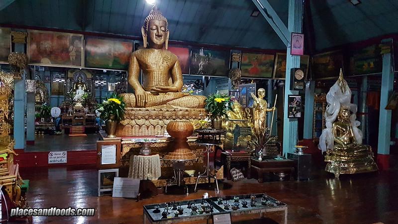 wat jong kham temple buddha