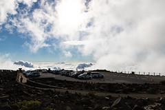 Parking Spot Mount Haleakala Maui, Hawaii