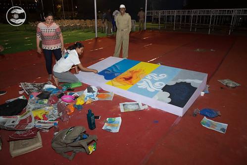 NYS Rangoly preparation