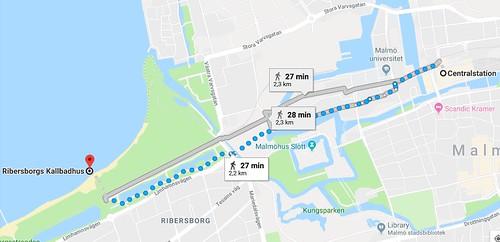 Malmö station to start