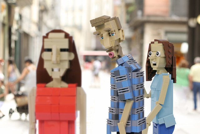 LEGO Distracted Boyfriend Meme
