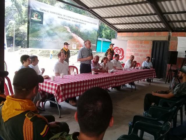 Iglesia Católica promueve modelo de integración de actores sociales en Caquetá