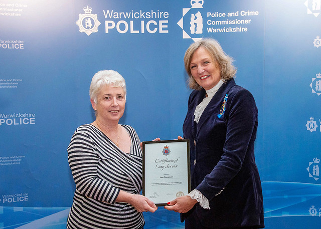 Warwickshire Police Chief Constable awards evening November 2018