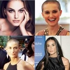 10 Female Celebs Who Shaved Their Heads