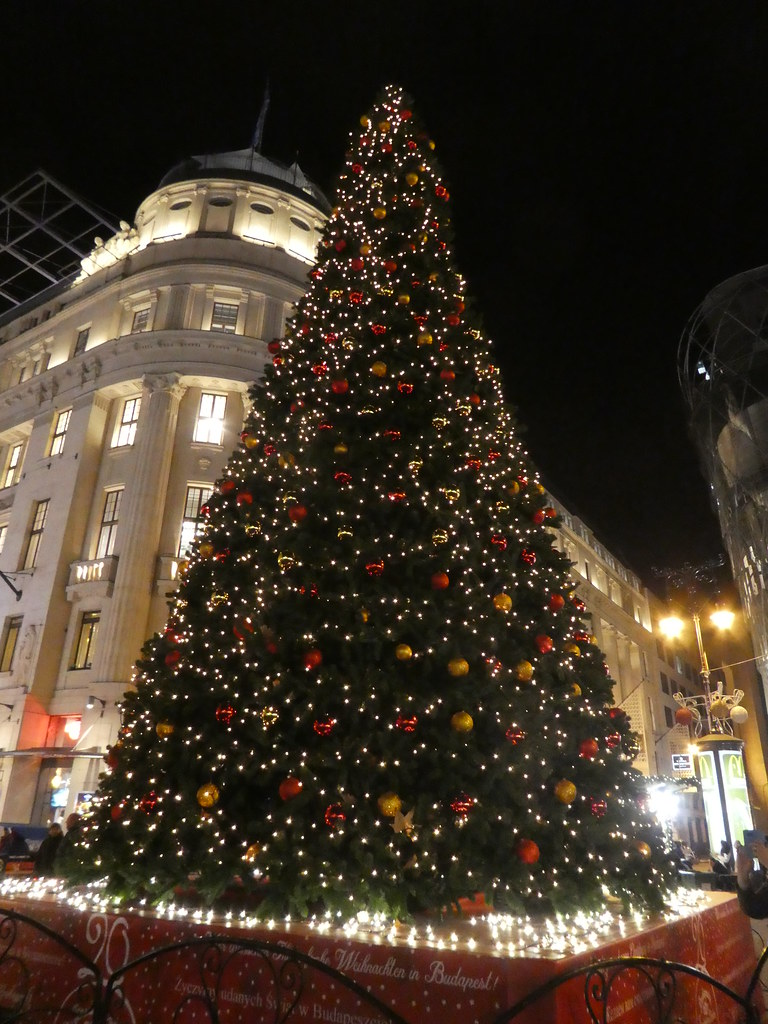 Christmas Tree, Vörösmarty tér, Budapest