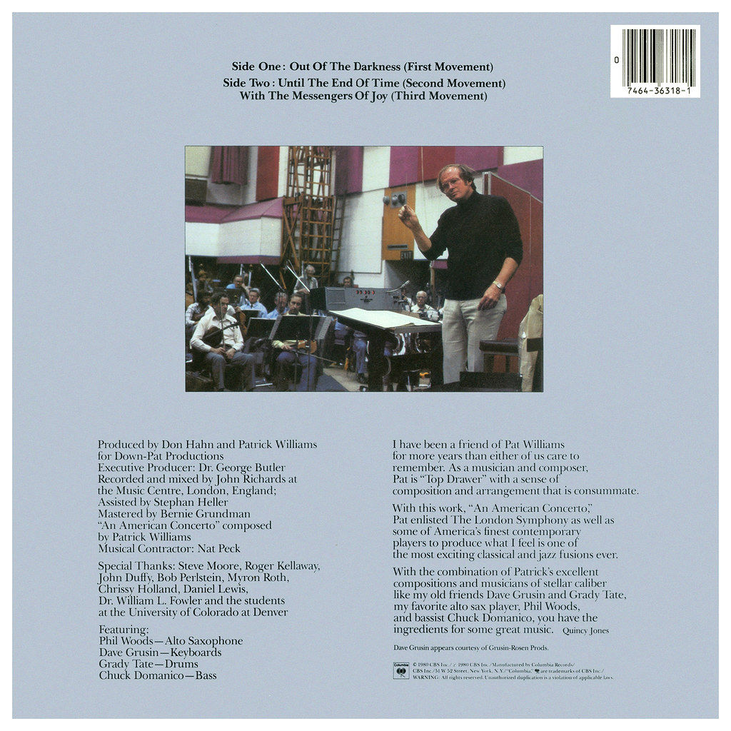 Patrick Williams - An American Concerto