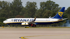 Boeing 737-8AS(WL) EI-FOM Ryanair - Photo of Dalhunden