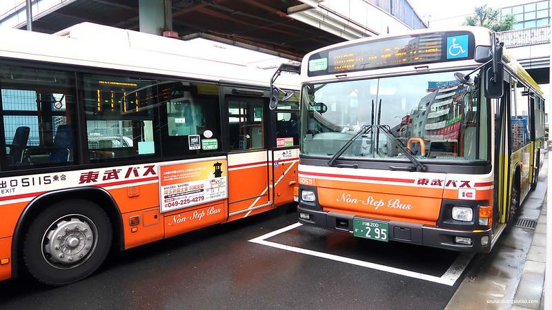 bus di jepang