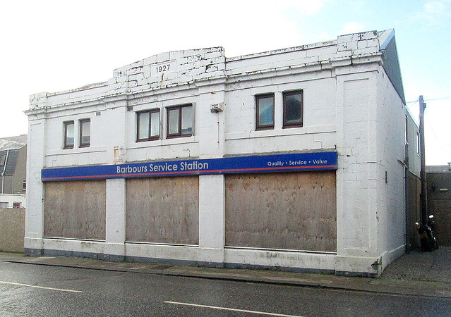 Art Deco Former Garage, Fraserburgh