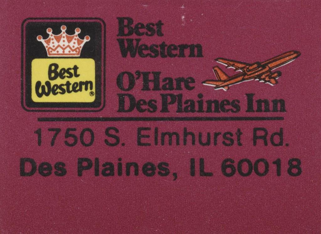Best Western Des Plaines Inn - Des Plaines, Illinois