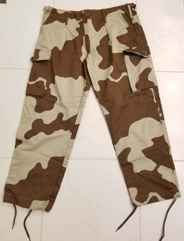 Tunisia - Groupement Territorial Saharien (GTS) Camouflage Trousers  46290692031_891cdae47d_o