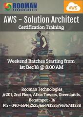 AWS-Solution Architect @Rooman Hyderabad