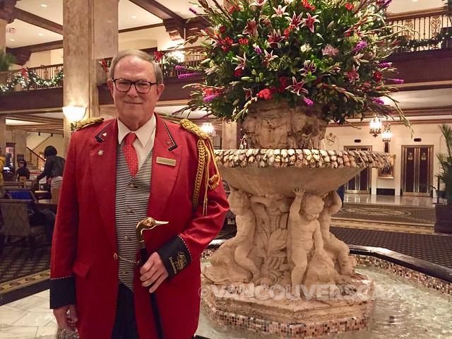 Peabody Hotel Memphis Duckmaster Doug Weatherford