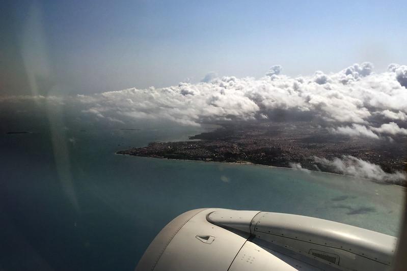 Departing Zanzibar