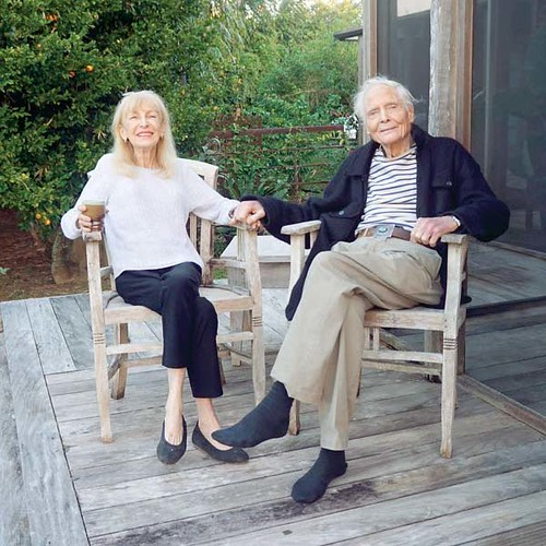 Paula-and-William-Merwin-by-Tom-Sewell1 via mauinews dot com