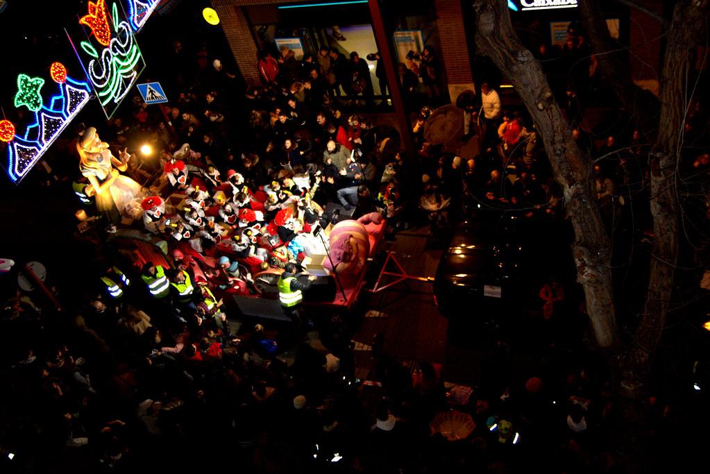 Cabalgata de Reyes en Valdemoro