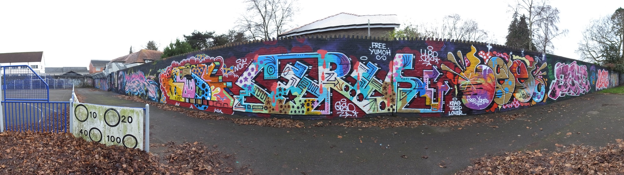 Rmer and Tizer Street art, Cardiff