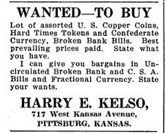 NUM, Dec 1922 , 618 Kelso ad