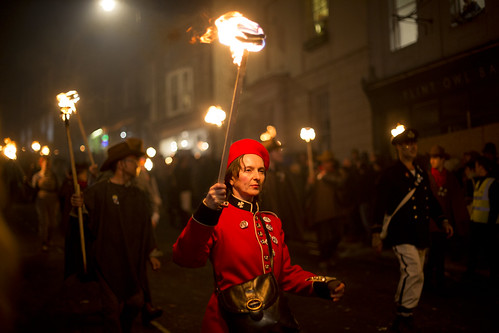 Lewes Bonfire Night 2018