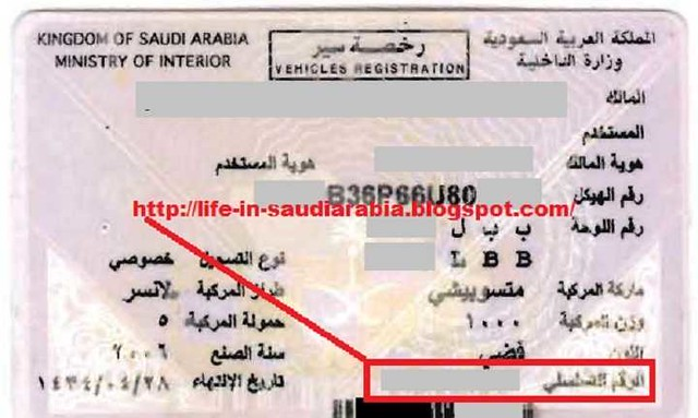 1071 Payment of Fee to Renew Istamara (Vehicle Registration) 05