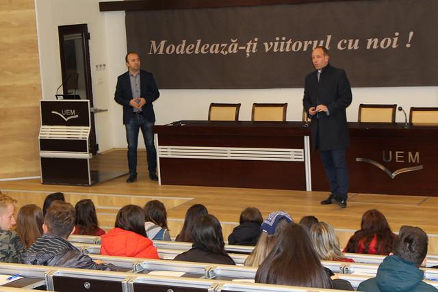 """""""Zilele Carierei Mele"""", marcate la Universitatea """"Eftimie Murgu"""" din Reșița"""