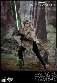 Hot Toys – MMS516 -《星際大戰六部曲:絕地大反攻》路克·天行者(恩多) Luke Skywalker (Endor) 1/6 比例人偶作品