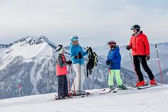 Velký lyžařský rozlet v Dolním Rakousku