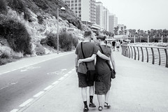 A Walk Together on the Promenade