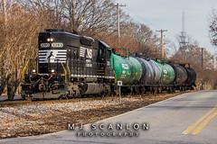 NS 3393 | EMD SD40-2 | NS Memphis District West End