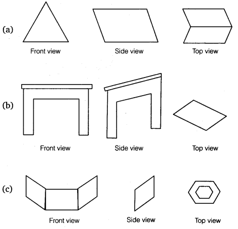 NCERT Solutions for Class 8 Maths Chapter 10 Visualising Solid Shapes 14