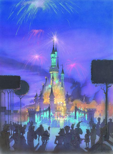 La Belle au Bois Dormant : 60 ans d'inspiration pour les Parcs Disney !