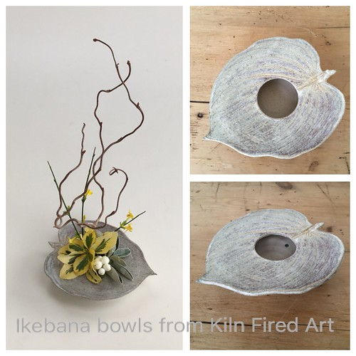 ikebana vase from Kiln Fired Art