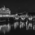 Castel St Angelo monochrome - https://www.flickr.com/people/95796256@N04/