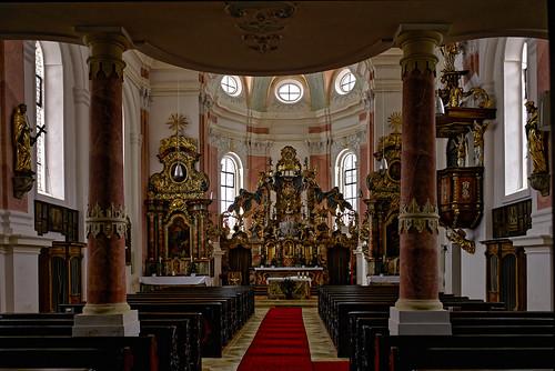 In der Wallfahrtskirche