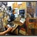BOTIGA-EL CARIBU-PINTURA-ART-MANRESA-BOTIGUES-CUINA-PAELLES-PERSONATGES-INTERIORS-LOCALS-COMERCIALS-TIENDAS-INTERIORES-FOTOS-PINTANDO-ARTISTA-PINTOR-ERNEST DESCALS