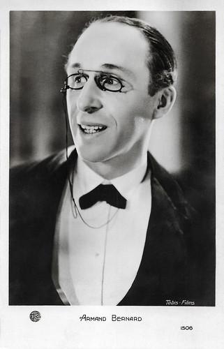 Armand Bernard in La femme en homme (1932)