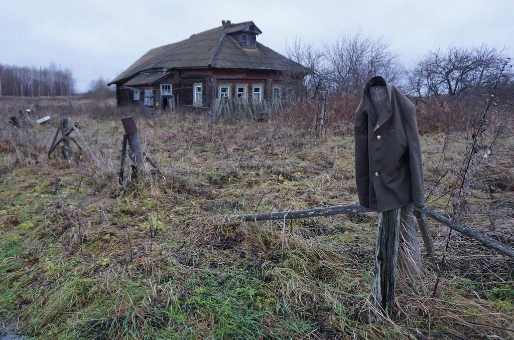 Покинутые села Новографское и Смольница