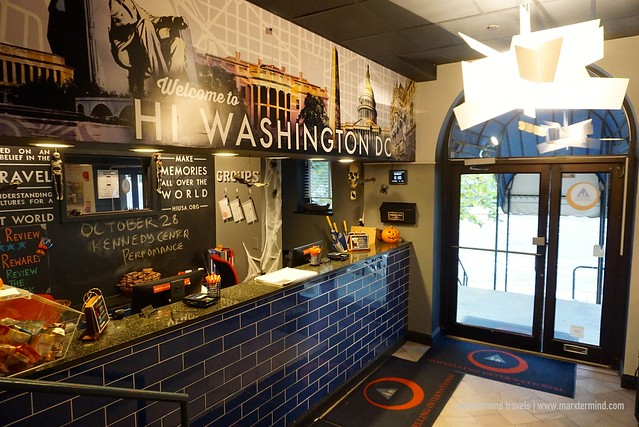 HI Washington DC Hostel Reception