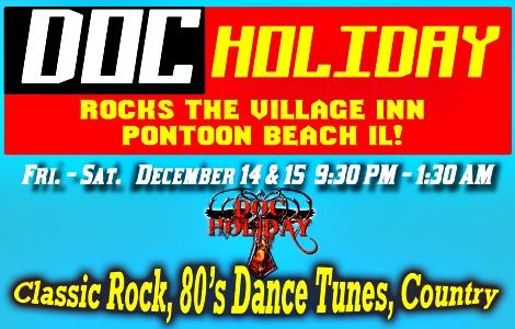 Doc Holiday 12-14, 12-15-18
