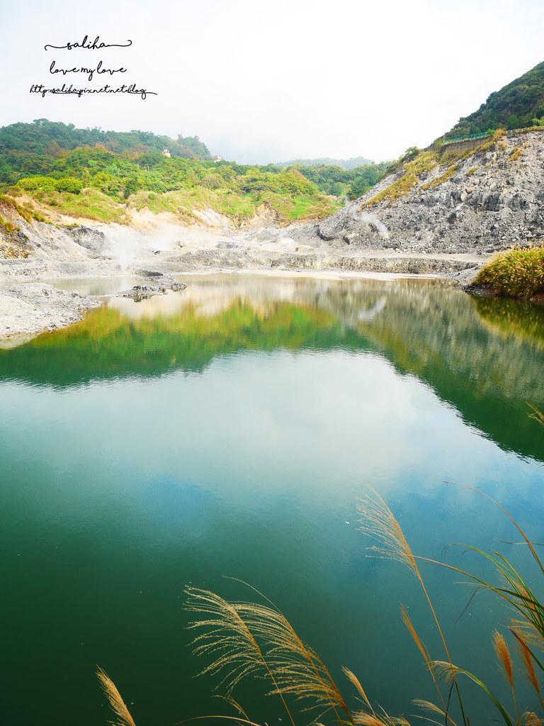 台北陽明山一日遊景點推薦硫磺谷龍鳳谷公園免費泡湯溫泉泡腳池 (5)