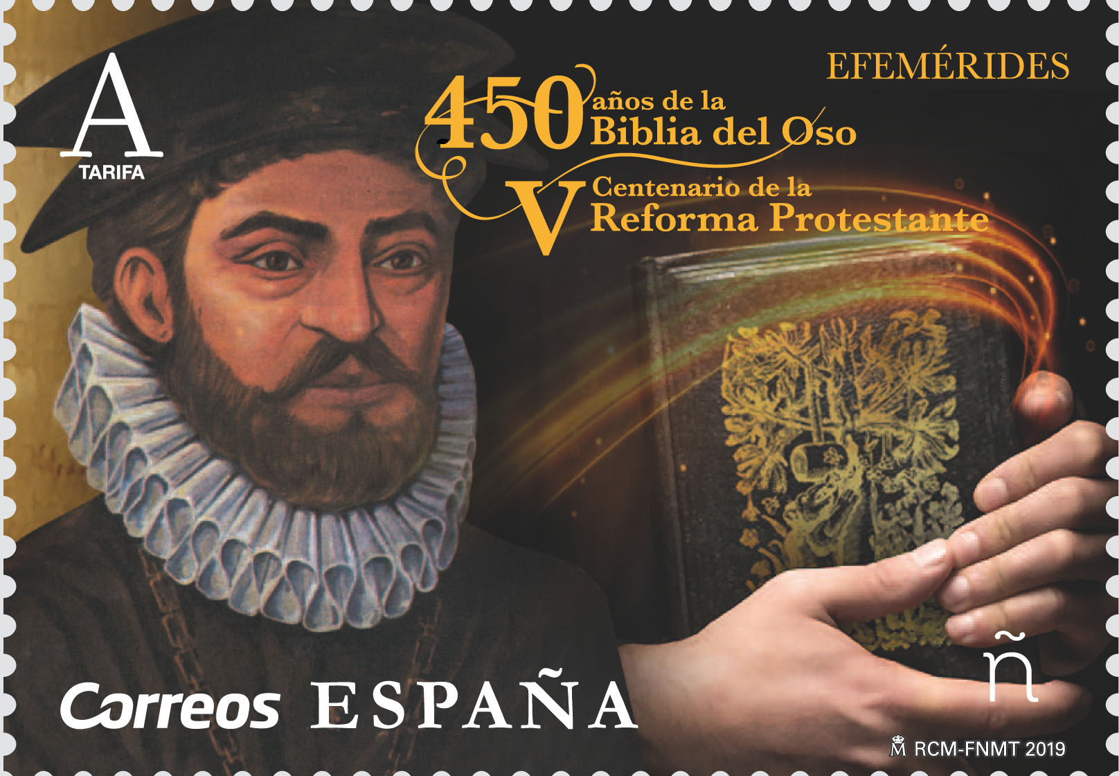 Spain - 450th Anniversary of the Bear Bible and Fifth Century of the Protestant Reformation (January 14, 2019)