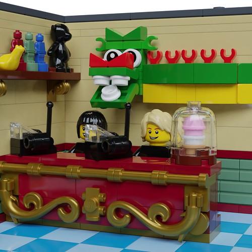 Toys Shop desk