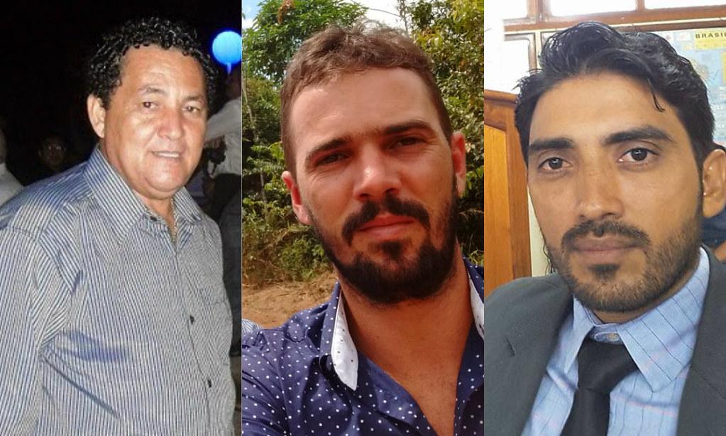 Aparecido, Marciano e Jonas