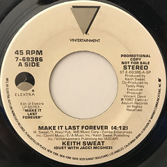 KEITH SWEAT:MAKE IT LAST FOREVER(LABEL SIDE-B)