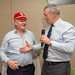 Nick Popplewell receives his Lions Cap from Gavin Hastings at GRFC (52)