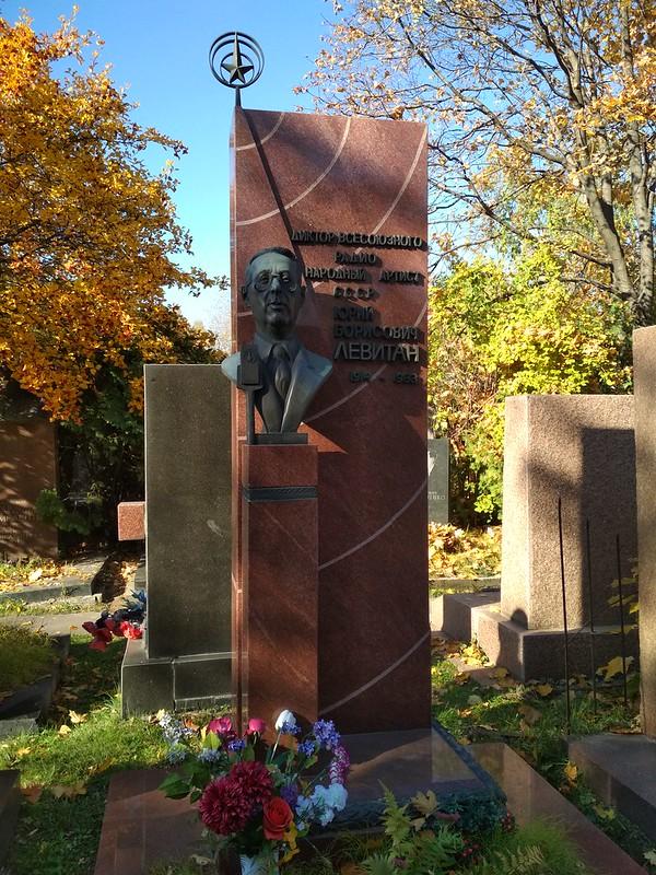 Москва - Новодевичье кладбище - Юрий Левитан
