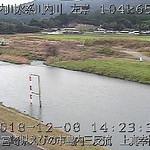 川内川上真幸橋ライブカメラ画像. 2018/12/08 14:31