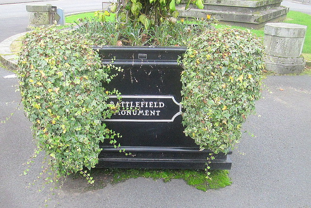 Battlefield Monument Planter