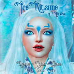 Ice Kitsune - Advent Gift - Dec 13 - Kaleidoscope Shopping Mall